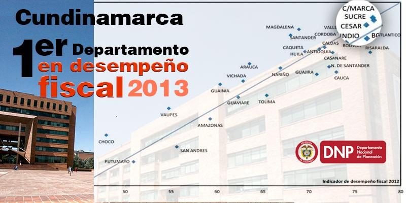04 Cundinamarca con el mejor desempeño fiscal del país 2