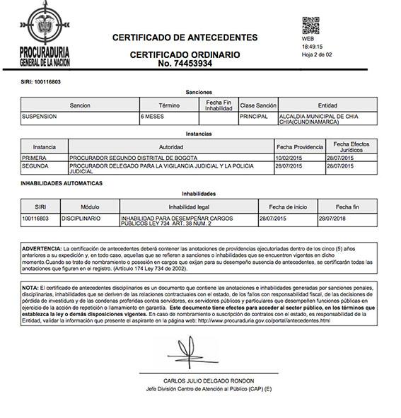 CERTIFICADO 22222