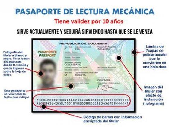 pasaporte mecanbico