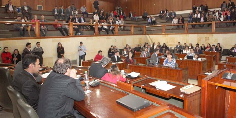 Clausura sesiones Asamblea Cundinamarca cuatrienio